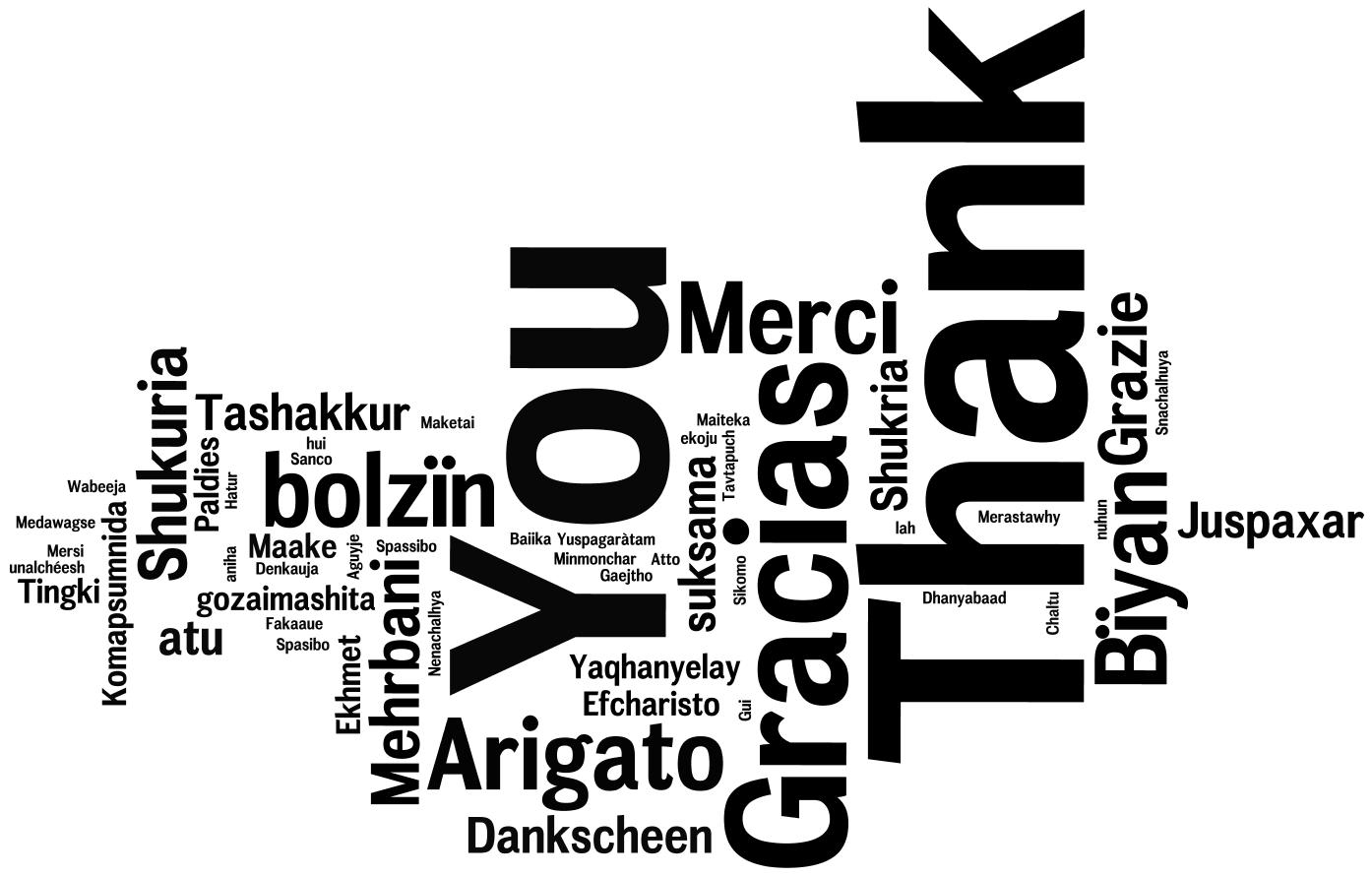 Gratitude & Thank You's