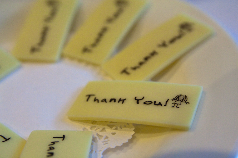 Thanking Clients