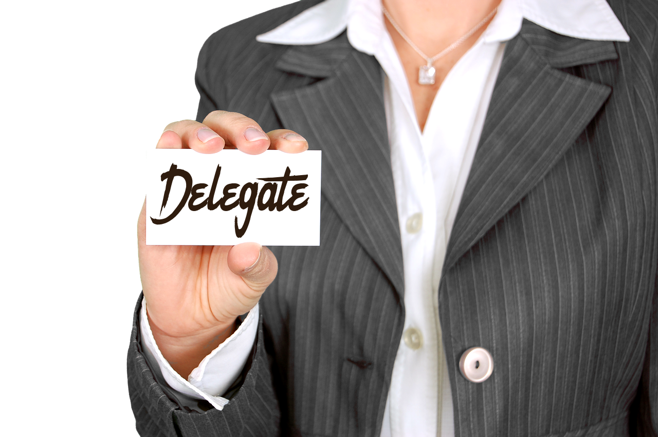 Delegate Before You Hit the Panic Button