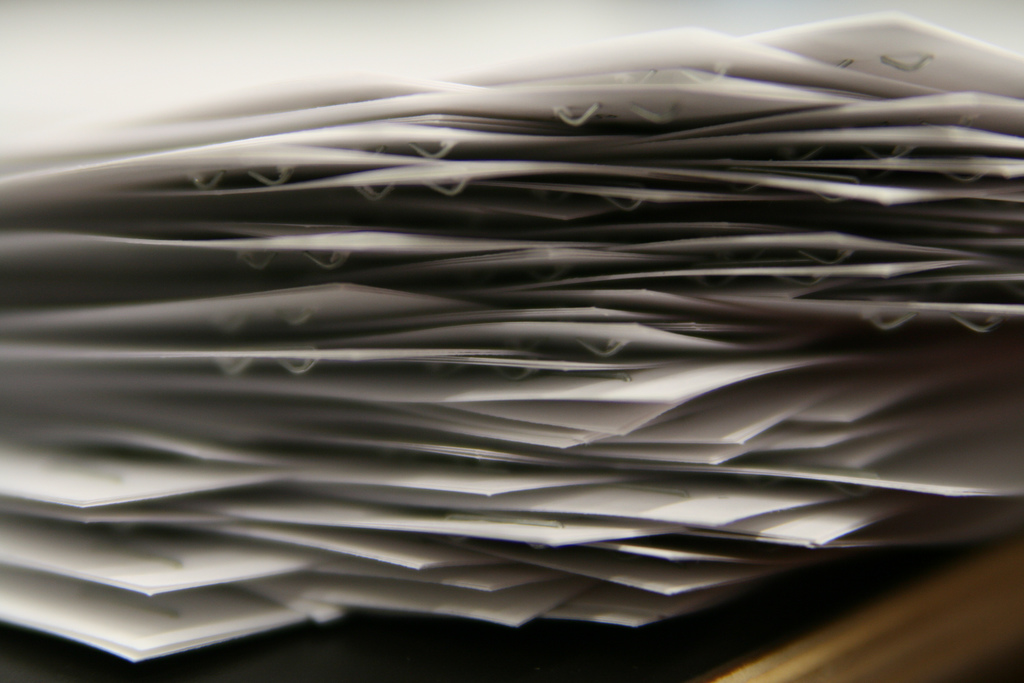 Paper Matters vs. Paperless Office
