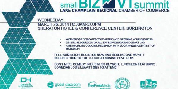 Join us at: Small BIZ VT Summit